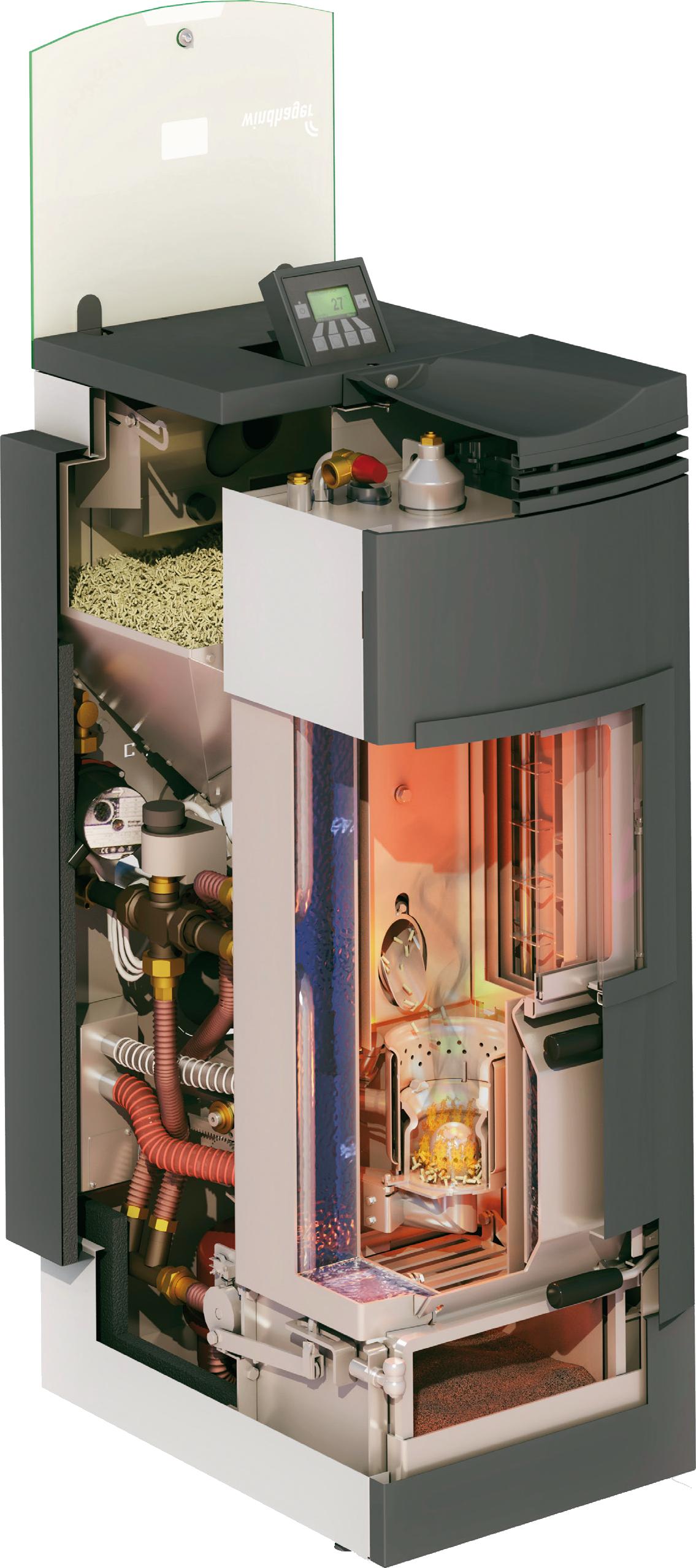 Caldaia a pellet da arredamento caldaia a pellet da arredo for Caldaia a metano o pellet cosa conviene